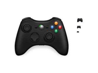 360 Controller Icon macos inkscape icon