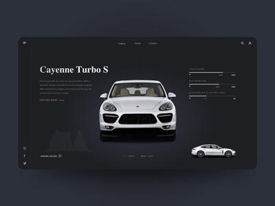 Porsche Cayenne - UI Concept