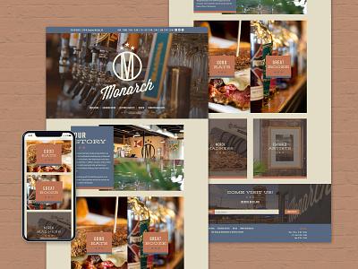 Monarch Redesign kansas wichita photograph restaurant webdesign baseline creative