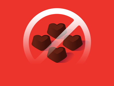 EPCT Chocolate treats candy truffles emergency methylxanthines hearts valentines day chocolate