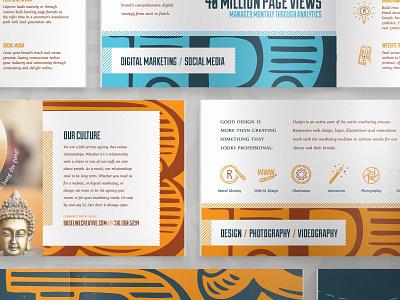 BC Media Kit book services culture baseline creative brand design illustration icon layout media kit