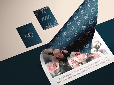 Bella Florals typography elegant design art simple design logodesign logo graphic  design design branding design branding