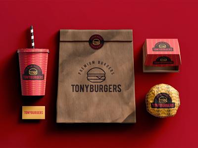 Tonyburgers design art vector simple simple design logodesign logo graphic  design design branding design branding
