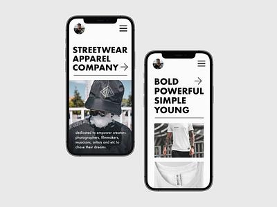 Streetwear company ( Ui design ) inspiration designer uxdesign app design ui  ux ui design uidesign uiux ui