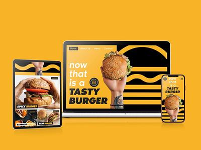 Burgerbar ( UI design ) typogaphy website design webdesign website ux  ui uidesign ui  ux ui design ui