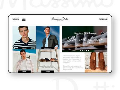 Massimo Dutti ( web redesign ) ux design uxdesign uxui website website design webdesign web ui design uidesign uiux ui