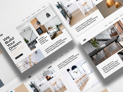 Building apartments company ( UI design ) typography branding designinspiration userinterface visualdesign visual design uxui uidesign ui