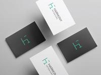 Harmony interiors logo design