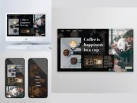 Coffee Web Concept