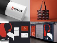 Smalt logo & brand identity design