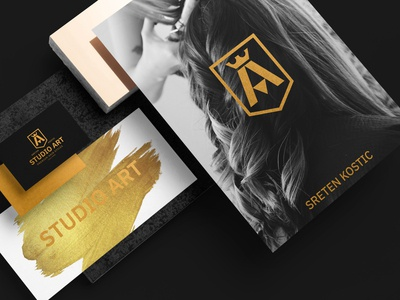 Studio Art ( brand identity design )