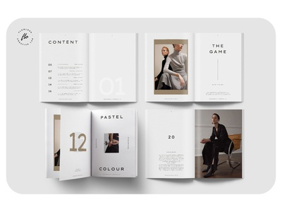 BOTLEY Photography Portfolio portfolio photography layout minimalist minimal clean professional modern catalogue catalog magazine template printable print indesign adobe usletter