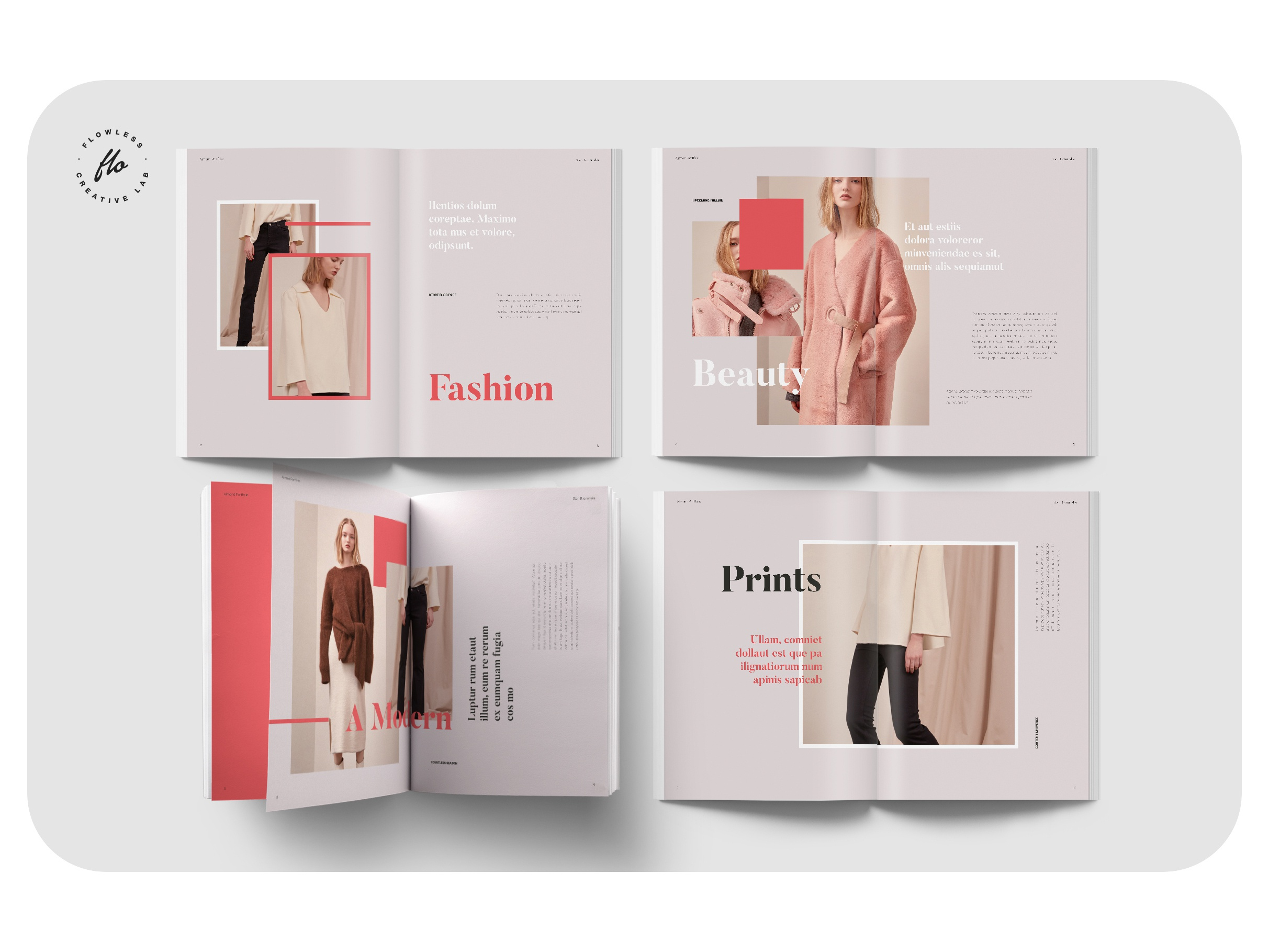 Almond Fashion Design Portfolio By Flowless On Dribbble