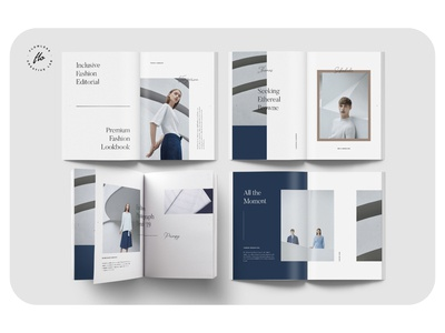 ANNA Minimalist Catalog Lookbook