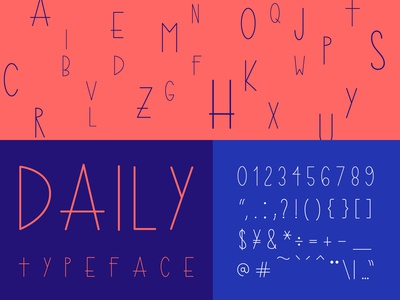 Daily Typeface