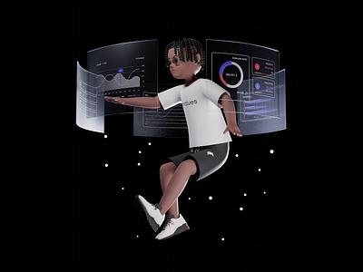 Backend Sys c4d 3d illustration 3d 3d artwork blender3d 3d modeling 3d art 3d artist illustration 3d animation