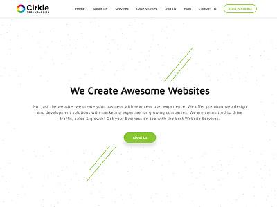 Cirkle Studio front-end development wordpress development magento web development company ecommerce design shopify web design design