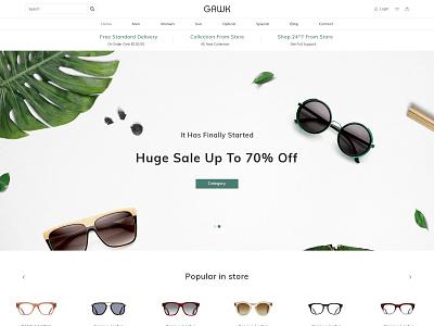 Gawk Premium Shopify Theme by Zarathemes free theme ecommerce design graphic design download free theme web design shopify shopify theme