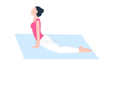 Exercise Yoga graphic design design ui vector illustration