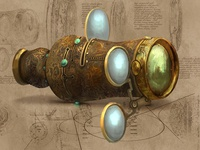 Steampunk Spectroscope