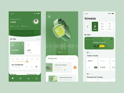 Planned Life Management  App Design