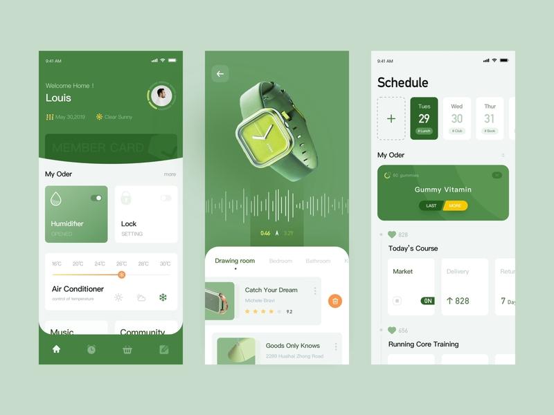 Planned Life Management  App Design timeline problem solving health balance setting plan achievement design ux ui
