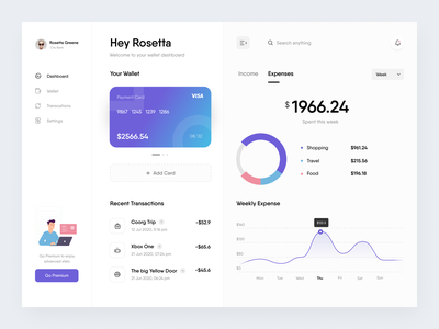 Banking dashboard creditcard light ui card balance banking asish credit card credit finance trending dashboard cards product minimal clean app design ux ui