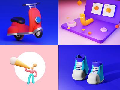 Icon 3D design branding 3d character modeling 3d concept 3d cartoon 3d character blender3dart blender 3d blender3d 3d artist 3d modeling 3d animation blender 3d art icon 3d