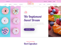 eCommerce Cake shop