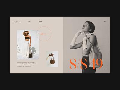 Are Studio Animation animation web makereign typography layout e-commerce minimal ui design