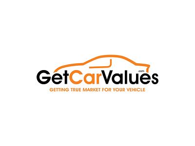 Logo- Get Car Values car logodesign logo