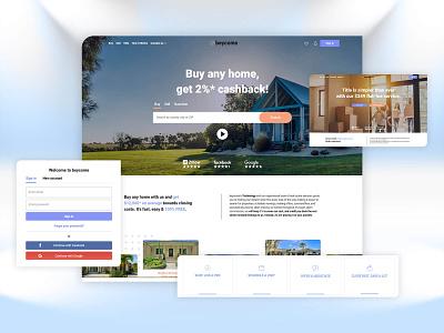 Beycom Real Estate webdesign website real estate