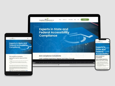 ADA Compliance Professionals INC branding webdesign website design