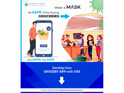 Covid 19 : Online Grocery covid19 ussllc grocery app mobile app