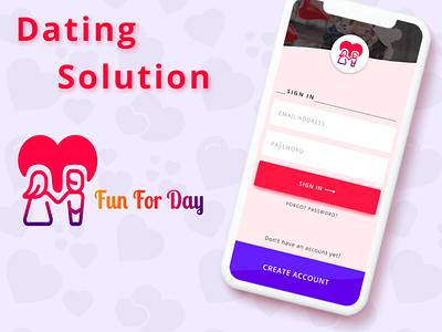 Tinder Like Dating App Development Solutions branding ui design dating app dating website