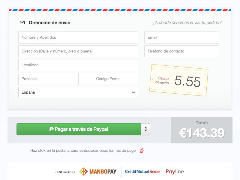 Shopping cart shopping ecommerce form shipping ui shop buy modal mail