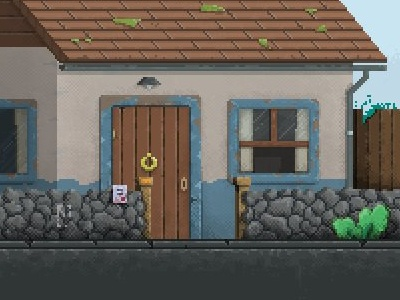 House pixel gamedev pixelart pixel