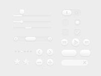 White UI Controls
