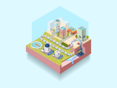 Big Data isometric