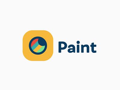 Paint Logo graphic design paint logo design challenge thirty logos logo