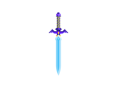 Master Sword By Andrew Washuta On Dribbble