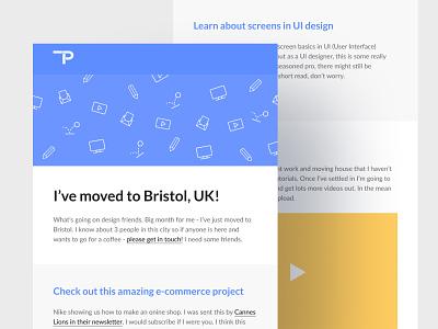 Newsletter - September 2020 ux design flat branding ui email designer email template html email html email code enewsletter newsletter email design email