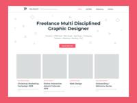 Portfolio Landing Page Concept