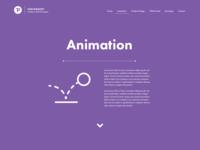 Portfolio Page - Animation