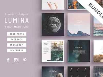 LUMINA Social Media BUNDLE