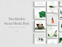 Stockholm Social Media Pack