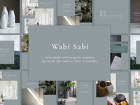 Wabi Sabi - social media pack
