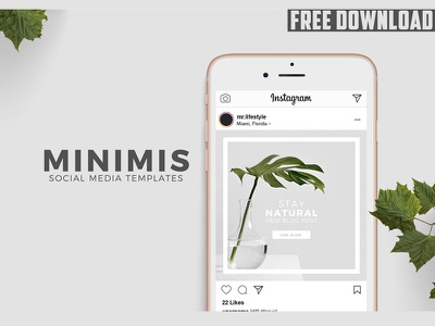 Animated Social Media Templates - FREE DOWNLOAD modern fashion blogger stories creative marketing instagram template social media templates media social animated