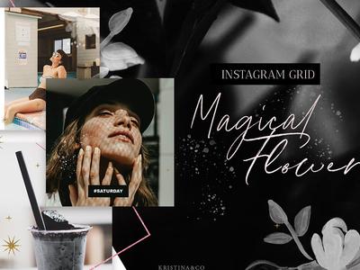 Instagram Grid & Stories template