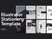Illustrator Stationery Template